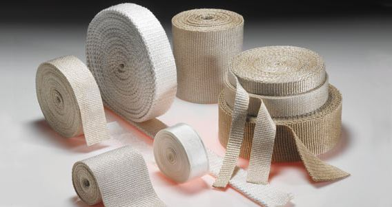 Silica Tapes (1800ºF Silica Tapes) - Foundry Service